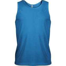 Oblečenie Muži Tielka a tričká bez rukávov Proact Débardeur  Sport bleu eau