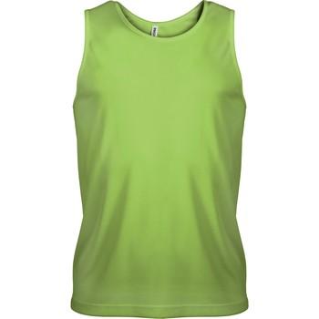 Oblečenie Muži Tielka a tričká bez rukávov Proact Débardeur  Sport vert fluo
