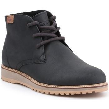 Topánky Ženy Polokozačky Lacoste Manette Čierna