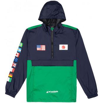 Oblečenie Muži Vetrovky a bundy Windstopper Huf Jacket flags anorak Modrá