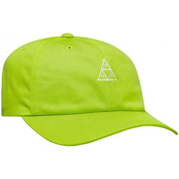 Textilné doplnky Muži Šiltovky Huf Cap essentials tt logo cv 6 panel bio Zelená