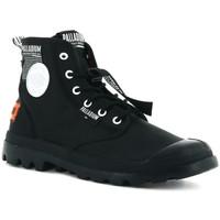 Topánky Muži Členkové tenisky Palladium Manufacture Lite overlab u Čierna