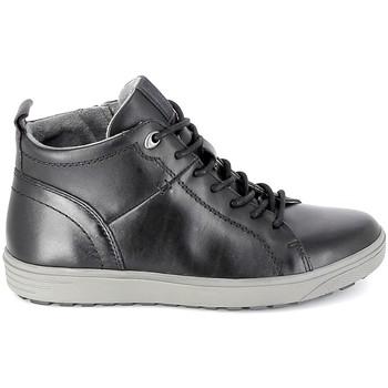 Topánky Muži Členkové tenisky Jana Sneaker 25202 Noir Čierna