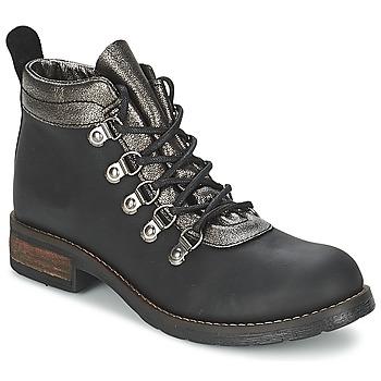 Topánky Ženy Polokozačky Casual Attitude MIZATTE Čierna