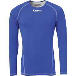 Oblečenie Muži Tričká s dlhým rukávom Kempa Maillot de compression ML  Attitude bleu roi