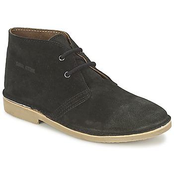 Topánky Muži Polokozačky Casual Attitude IXIFU čierna