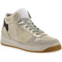 Topánky Ženy Univerzálna športová obuv At Go GO 584 VELOUR GHIACCIO Bianco