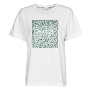 Oblečenie Ženy Tričká s krátkym rukávom Aigle RAOPTELIB Biela