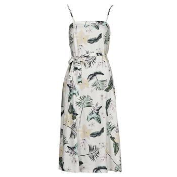Oblečenie Ženy Dlhé šaty Roxy NOWHERE TO HIDE Biela