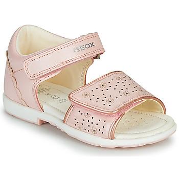 Topánky Chlapci Sandále Geox B VERRED Ružová