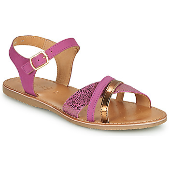 Topánky Dievčatá Sandále Geox J SANDAL EOLIE GIRL Ružová / Zlatá