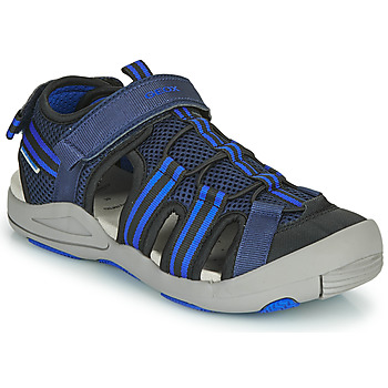 Topánky Deti Sandále Geox JR SANDALE KYLE Modrá