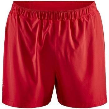 Oblečenie Muži Šortky a bermudy Craft Adv Essence 5 Stretch Červená