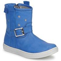 Topánky Dievčatá Polokozačky Pinocchio RABIDA Modrá