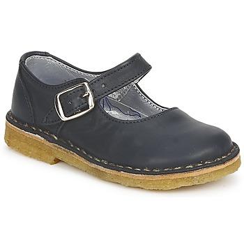 Topánky Dievčatá Balerínky a babies Pinocchio LIANIGHT Námornícka modrá