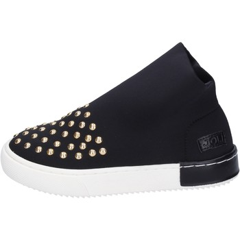 Topánky Dievčatá Módne tenisky Joli sneakers tela borchie Nero