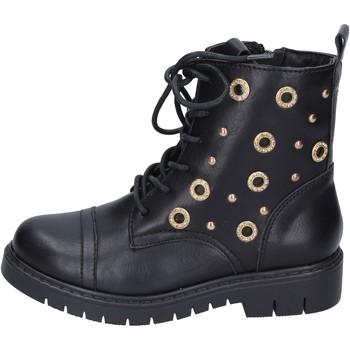 Topánky Dievčatá Čižmičky Joli stivaletti pelle sintetica Nero