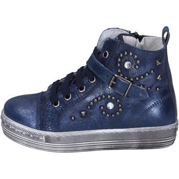 Topánky Dievčatá Módne tenisky Eb sneakers pelle Blu