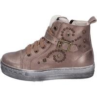Topánky Dievčatá Nízke tenisky Eb sneakers pelle Marrone