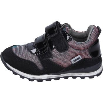 Topánky Dievčatá Módne tenisky Enrico Coveri Tenisky BK251 Čierna