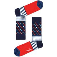 Doplnky Muži Ponožky Happy Socks Stripes and dots sock Viacfarebná