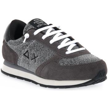 Topánky Ženy Bežecká a trailová obuv Sun68 SUN68 47 ALLY THIN GLITTER Grigio
