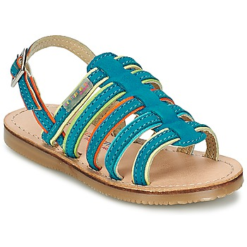 Topánky Dievčatá Sandále Les Tropéziennes par M Belarbi MISS Modrá