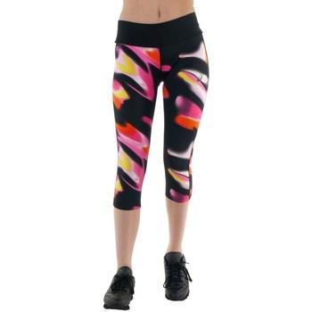 Oblečenie Ženy Nohavice Asics 34 Fuzex Knee Tight Čierna, Ružová