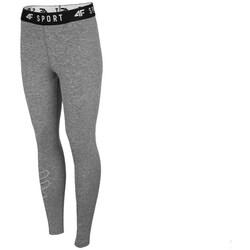 Oblečenie Ženy Nohavice 4F SPDF001 Sivá