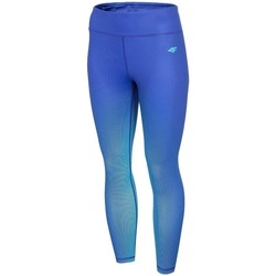 Oblečenie Ženy Legíny 4F SPDF008 Modrá