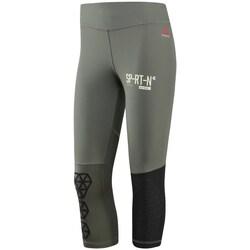 Oblečenie Ženy Legíny Reebok Sport Spartan Capri W Čierna, Sivá