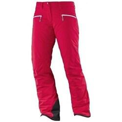 Oblečenie Ženy Nohavice Salomon Whitecliff Gtx W Červená