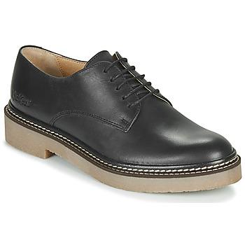 Topánky Ženy Derbie Kickers OXFORK Čierna