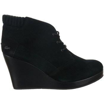 Topánky Ženy Čižmičky Lacoste Leren 4 Čierna