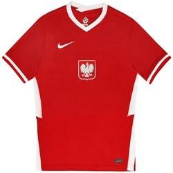 Oblečenie Muži Tričká s krátkym rukávom Nike Polska Breathe Away Biela, Červená