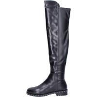 Topánky Ženy Čižmy Elvio Zanon Čižmy BK374 Čierna