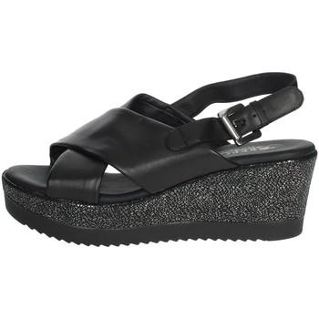 Topánky Ženy Sandále Repo 51529-E0 Black