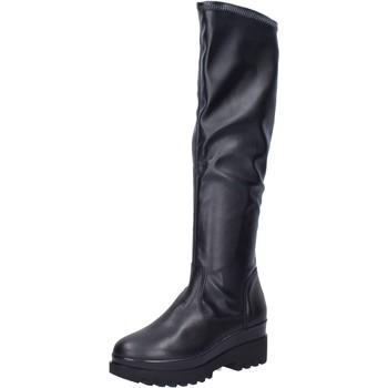 Topánky Ženy Čižmy Geste stivali pelle sintetica Nero