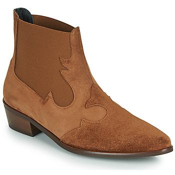Topánky Ženy Polokozačky Fericelli NANTIAG Ťavia hnedá