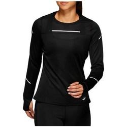 Oblečenie Ženy Tričká s dlhým rukávom Asics Liteshow 2 LS Top Čierna