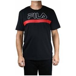 Oblečenie Muži Tričká s krátkym rukávom Fila Men Laurentin Tee Čierna, Červená