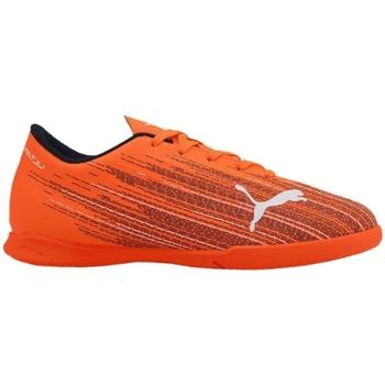 Topánky Deti Futbalové kopačky Puma JR Ultra 41 IT Oranžová