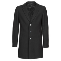 Oblečenie Muži Kabáty Jack & Jones JJEMOULDER Čierna