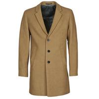 Oblečenie Muži Kabáty Jack & Jones JJEMOULDER Ťavia hnedá
