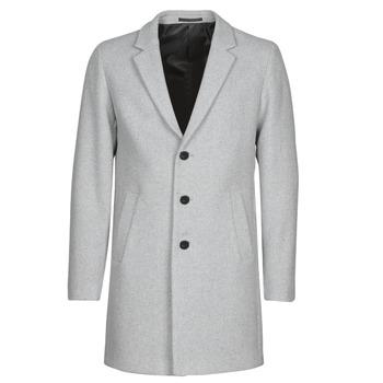 Oblečenie Muži Kabáty Jack & Jones JJEMOULDER Šedá