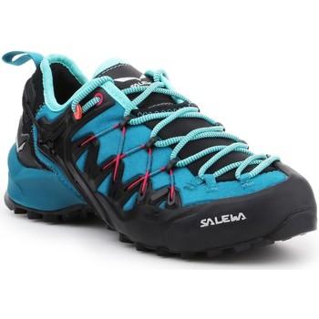 Topánky Ženy Turistická obuv Salewa WS Wildfire Edge 61347-8736 black, blue