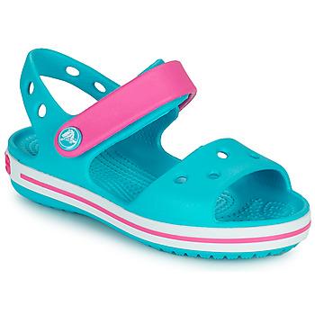 Topánky Dievčatá Sandále Crocs CROCBAND SANDAL Modrá
