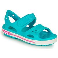Topánky Deti Sandále Crocs CROCBAND II SANDAL PS Modrá / Ružová