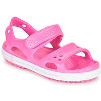 Topánky Dievčatá Sandále Crocs CROCBAND II SANDAL PS Ružová