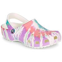 Topánky Ženy Nazuvky Crocs CLASSIC TIE DYE GRAPHIC CLOG Viacfarebná